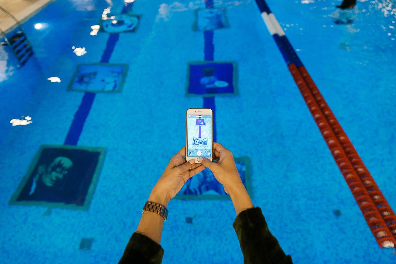 Подводная галерея. X-Fit x Artoholics»: как поднять искусство со дна
