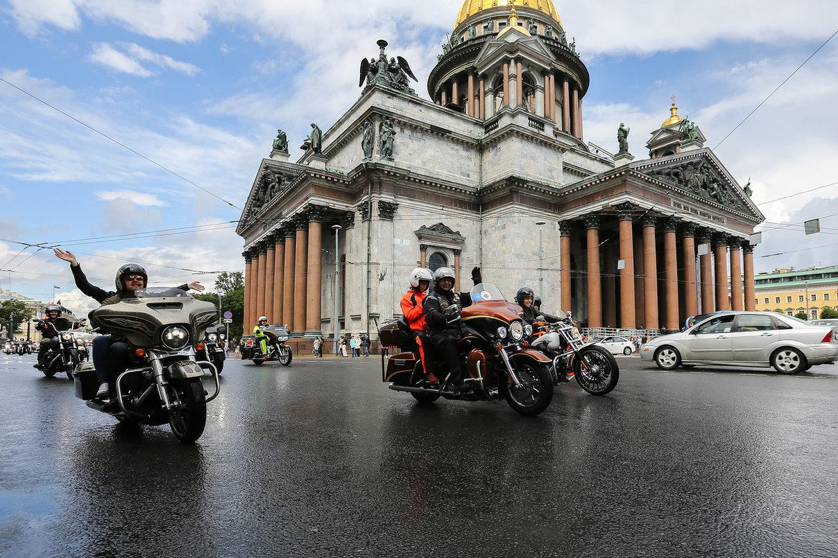 St.Petersburg Harley® Days – Мост Дружбы Народов!