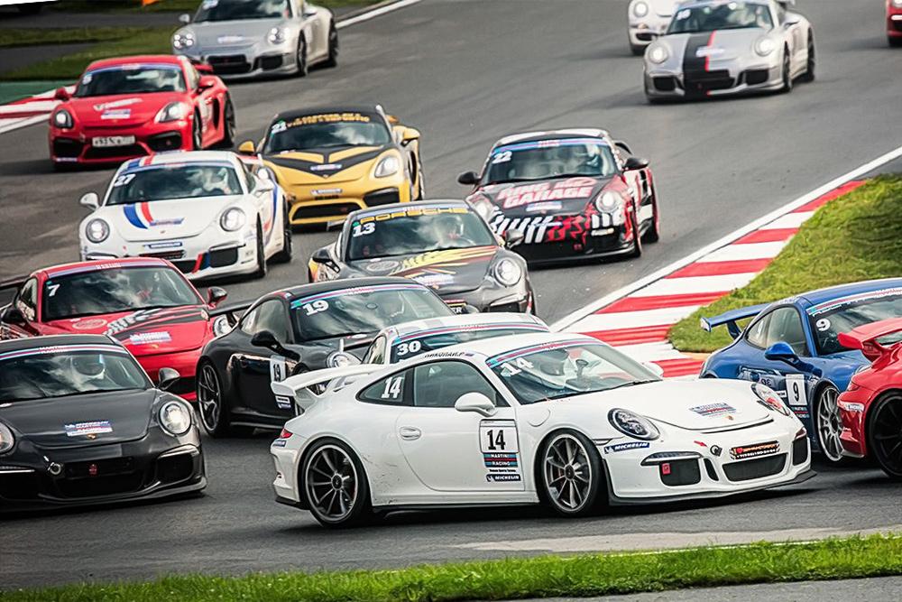 Гранд-финал виртуального чемпионата Porsche eSport Championship Russia