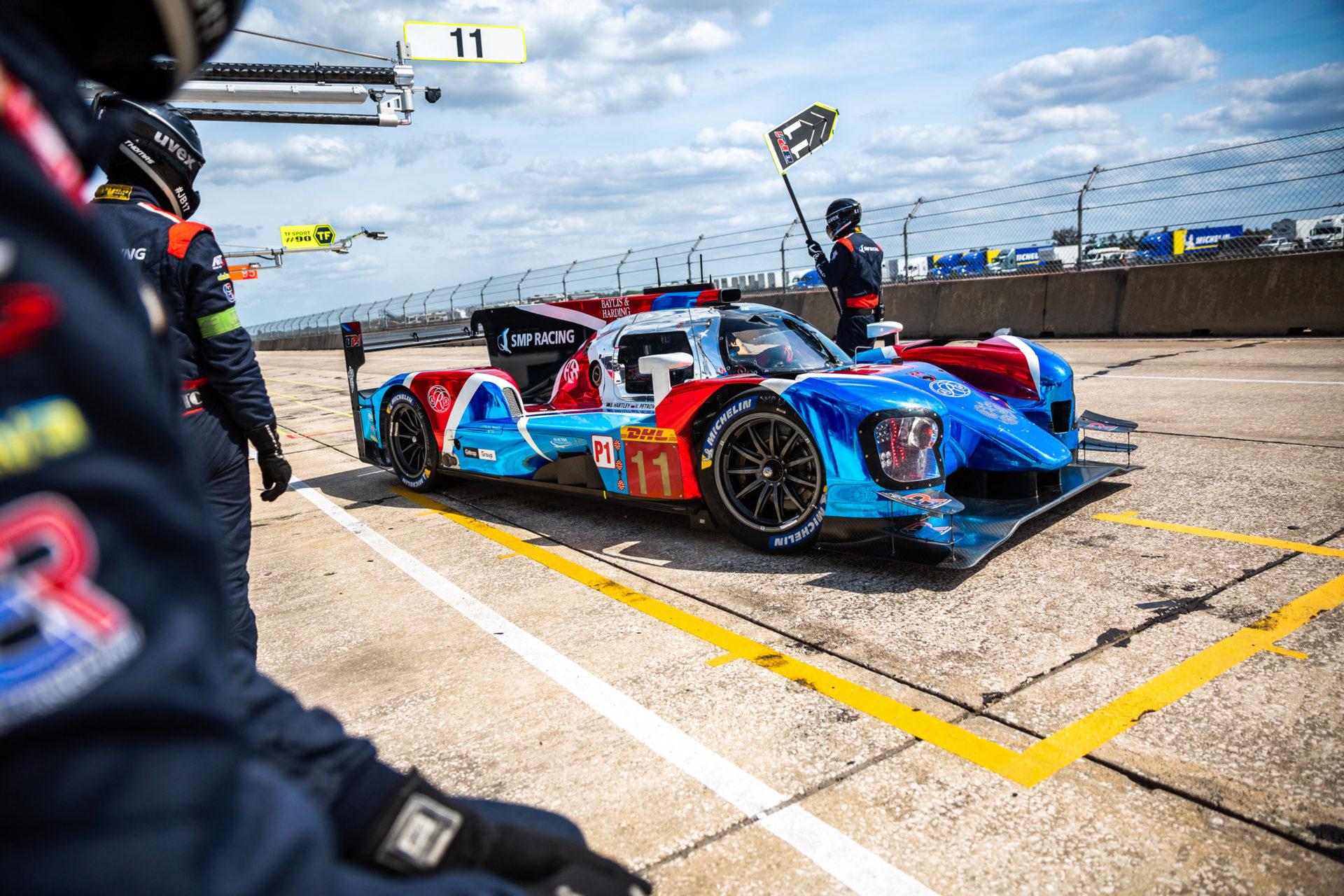 Экипажи SMP Racing стартуют с четвёртой и пятой позиций в гонке «1000 миль Себринга»
