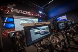 Открытие локации RaceRoom Club