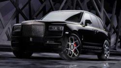 Rolls-Royce Cullinan Black Badge добрался до России.