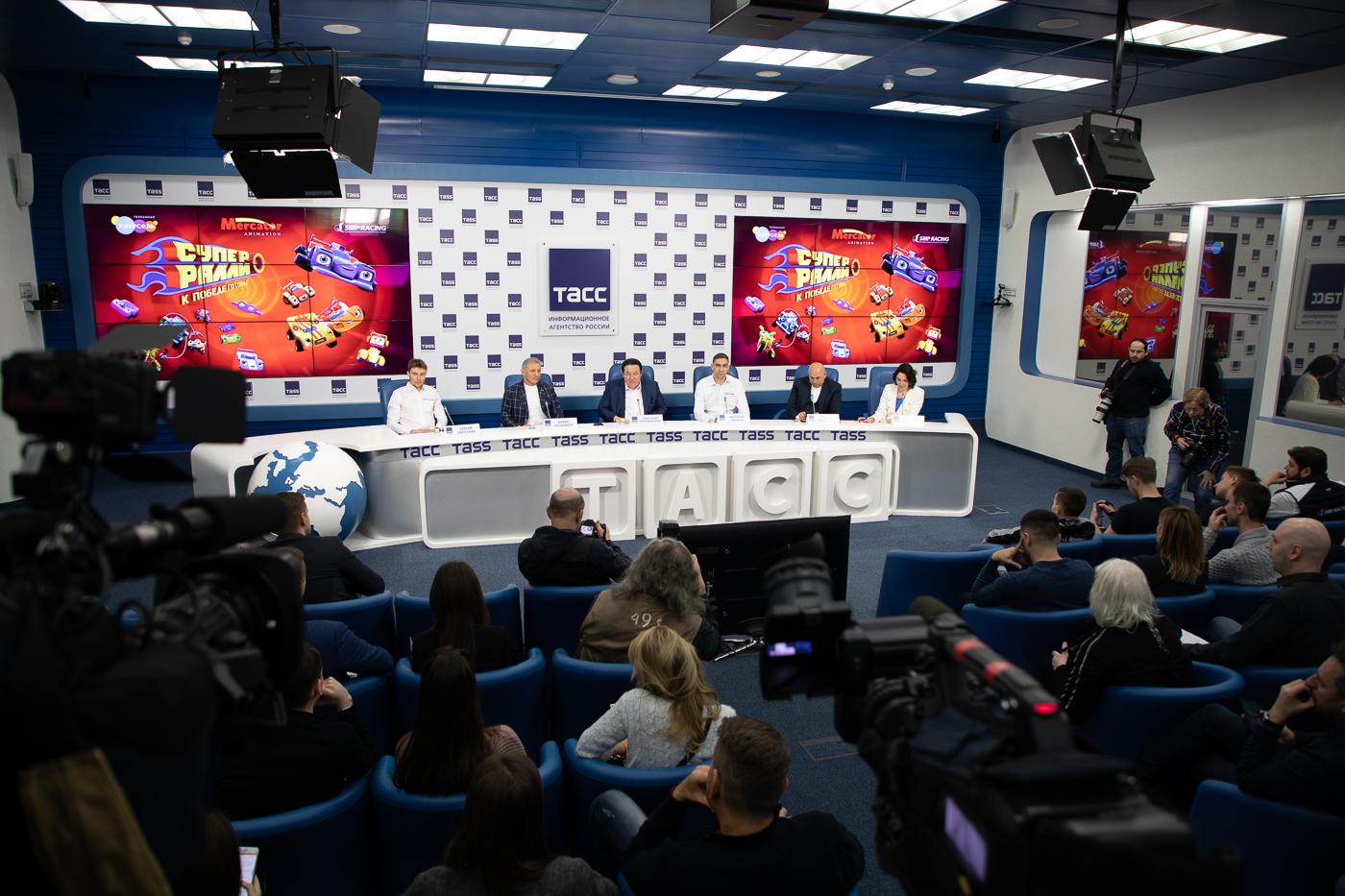 Состоялась пресс-конференция, посвященная новому мультсериалу «Супер Ралли».