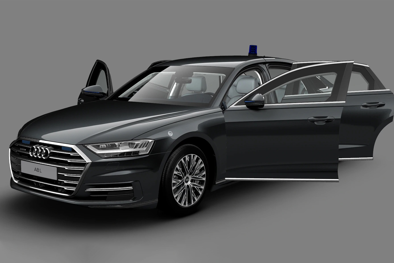 Audi A8 L Security ошарашил ценником
