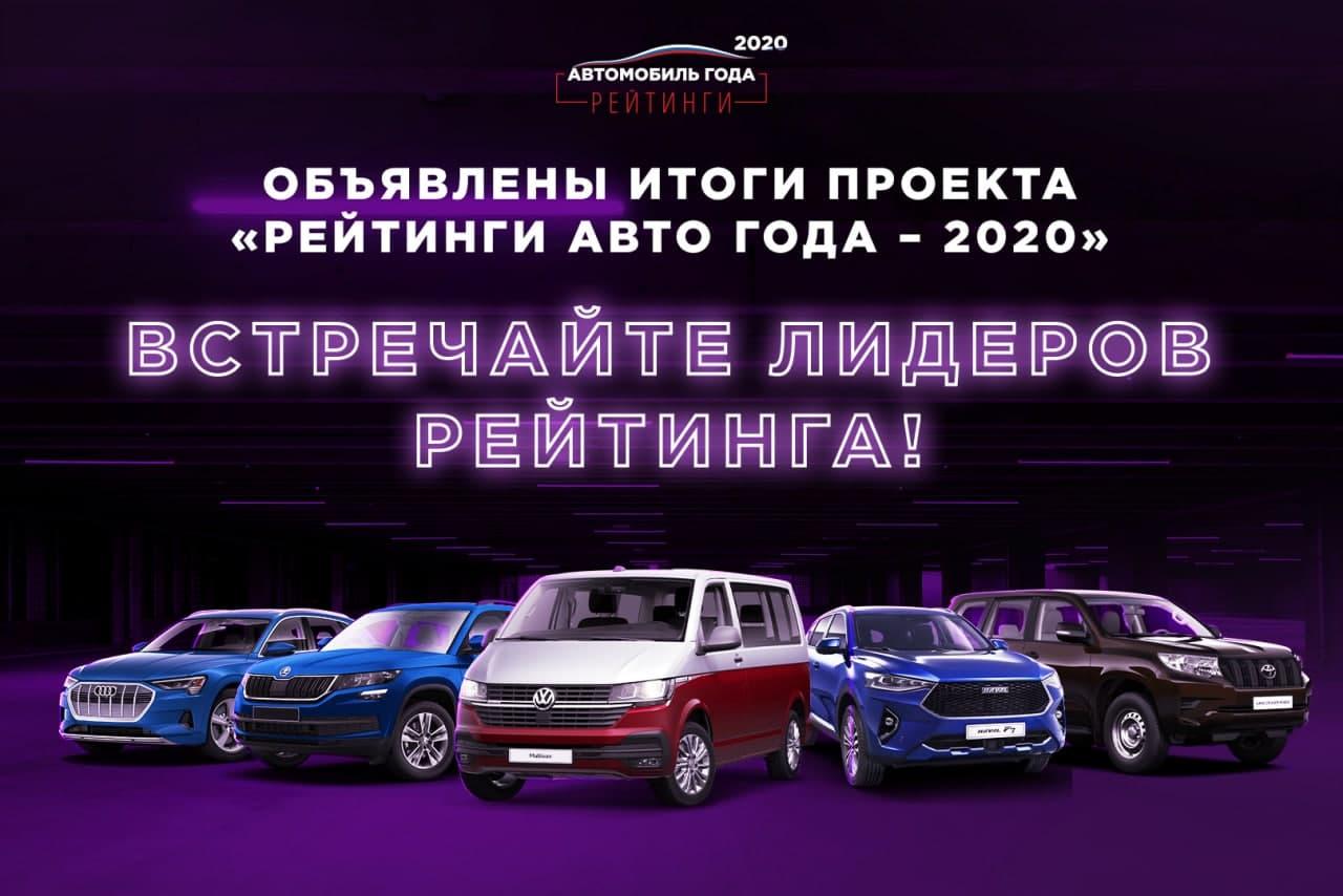 РОССИЯНЕ СОСТАВИЛИ РЕЙТИНГ АВТОМОБИЛЕЙ 2020 ГОДА