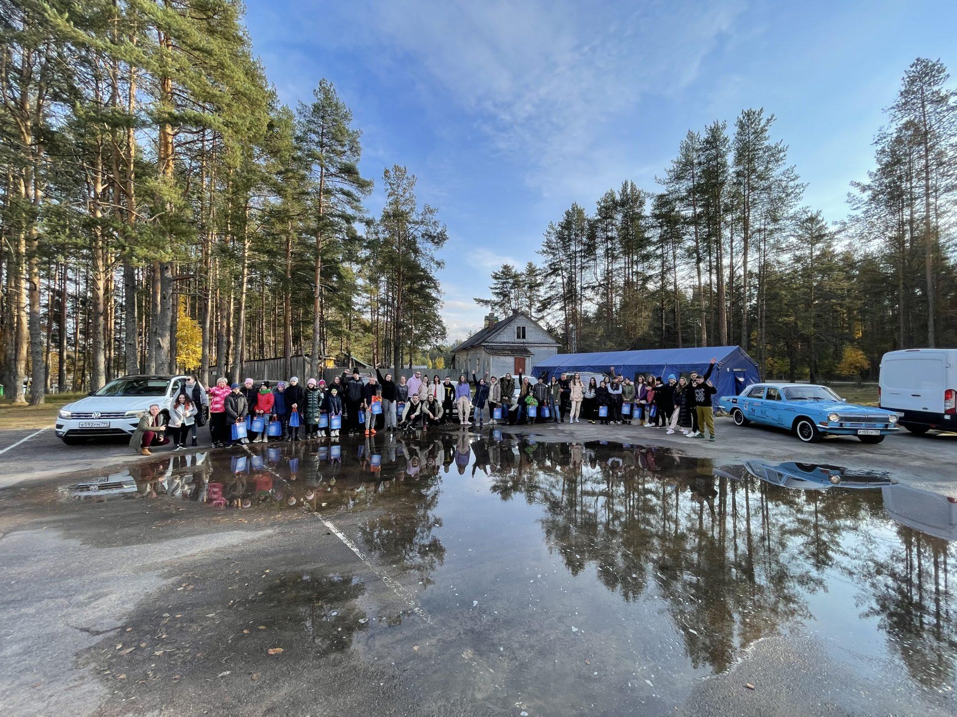 Благотворительный автопробег по М11 к Детям при поддержке «Авто Плюс»